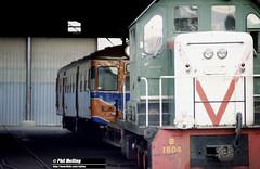 J812 B1604 railcar Midland Workshops (RailWA) Tags: railwa philmelling westrail joemoir b1604 railcar midland workshops