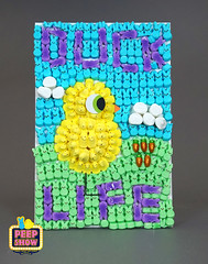 56-Duck Life (Carroll Arts Center) Tags: carroll county arts council 2018 peepshow a display marshmallow masterpieces featuring more than 150 sculptures dioramas graphic oversized characters mosaics created inspired by peepsâ®