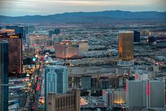 The Las Vegas Strip (ap0013) Tags: las vegas strip city cityscape skyline aerial stratosphere nv nevada lasvegas lasvegasstrip thestrip