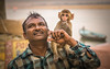 friends (andy_8357) Tags: monkey varanasi ghats river ganga ganges india candid portrait friends helping young sony a6000 ilcenex ilce6000 mirrorless sigma 60mm dn art lens man moustache hand boat late afternoon portraiture adorable emount e mount outdoors daytime natural light f28 bokeh fun touching heartwarming heart warming baby sweet connection street photography