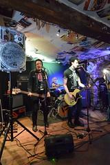 DSC_0063 (richardclarkephotos) Tags: tim bish joey luca © richard clarke photos derellas three horseshoes bradford avon wiltshire uk lone sharks guitar bass drums guitarist drummer bassist band bands live music punk