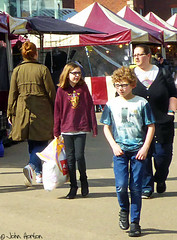 Market Day 15 (Row 17) Tags: england worcestershire worcester people candid portrait lumix panasonic streetscene streetlife streets street streetfashion market shoppers shopping