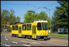501-2018-04-19-1-Messegelände (steffenhege) Tags: frankfurtoder svf strasenbahn streetcar tram tramway arbeitstriebwagen schleifwagen schleifi t6a2 t6a2m 501 ckd