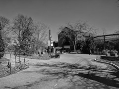 Zoo (ancientlives) Tags: chicago illinois il usa lincolnpark lincolnparkzoo zoo walking city blackandwhite bw mono monochrome bluesky thursday march 2018 winter ngc