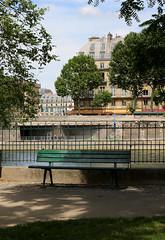 Paris Bench (Anna Sikorskiy) Tags: paris france europe city cityscape park bench summer season outdoor sunlight naturallight shadows sky urban atmosphere canon architecture