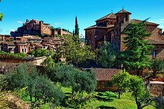 Panorámica de Alquézar (Huesca) (juanmzgz) Tags: alquézar huesca aragón españa castillo iglesia arquitecturapopular medieval villaturística