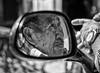 In front of is behind !! (poupette1957) Tags: art atmosphère black canon city curious detail guatemala humanisme humour imagesingulières life monochrome man noiretblanc noir old photographie people portrait rue street town travel urban ville voyage reflection