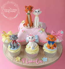 Aristocats Cake (The Clever Little Cupcake Company) Tags: cakes novelty celebration