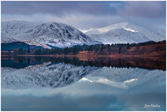 Loch Tulla Reflection