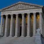Supreme Court of the United States just after sunset thumbnail