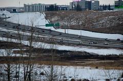 Deerfoot Winter Traffic 2 (Bracus Triticum) Tags: deerfoot winter traffic calgary カルガリー アルバータ州 alberta canada カナダ 11月 十一月 霜月 jūichigatsu shimotsuki frostmonth autumn fall 平成29年 2017 november