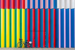 Bike and Stripes