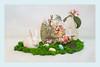 Happy Easter (Bob C Images) Tags: still life viburnum grass box textures eggs easter bunny rabbit vase e