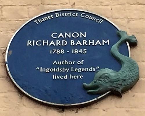 Canon Richard Barham
