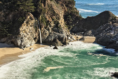 McWay Falls Revisited (chasingthelight10) Tags: events photography travel landscapes beaches ocean waterfalls places california bigsur juliapfeifferburnsstatepark mcwayfalls