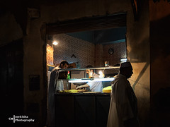 The color of the night (Melchita) Tags: streetphotography street streetcolor streetphotographycolor streetscenes colorphotography urbanlife urbanscenes urbanphotography morocco fez