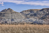 Fossel Hunters Trail, Dinosaur Provincial Park, Alberta (aud.watson) Tags: canada alberta albertaprairie newellcounty dinosaurprovincialpark worldheritagesite reddeerriver fossilhunterstrail sedimentaryrock badlands fossilbeds sandstone mudstone cliff cliffs rock rocks canyon canyons ravine ravines gully gullies hoodoo hoodoos rill rills grass prairiegrass grasses erosion landscape sky iddesleigh ca