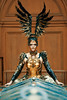 Phoenix #1 (mobile_gwenster) Tags: nikon d810 museum teylersmuseum phoenix gold armor costume magic warrior wings dress fantasy 200mm fairytale