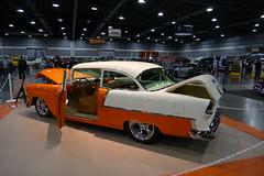 1955 Chevy BelAir (bballchico) Tags: 1955 chevrolet belair jeffevans jeffpeterson awardwinner 1stplacesemihardtop portlandroadstershow carshow