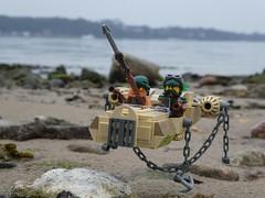 Hoover Pirates (captain_joe) Tags: toy spielzeug 365toyproject lego minifigure minifig moc car auto hoover kiel hasselfelde strand beach wasser water sky himmel