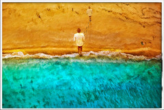Déjà vu (sw2018) Tags: painting art beach sand sea
