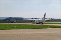 ATR-42-500 OK-KFO (Pavel Vanka) Tags: atr42500 okkfo atr42 czechairlines csa passengerplane turboprop atr ciaf czechinternationalairfest lktb brnoturany brno czech czechrepublic airplane plane aircraft airshow spotting spot spotter