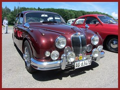 Jaguar MkII, 3.8 Litre (v8dub) Tags: jaguar mk ii 3 8 litre 2 schweiz suisse switzerland bleienbach british pkw voiture car wagen worldcars auto automobile automotive old oldtimer oldcar klassik classic collector