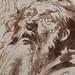 VAN DYCK Antoon - Têtes de Vieillard en buste, Etudes (drawing, dessin, disegno-Louvre INV22197) - Detail 7