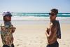 DSCF3365-2 (B Random) Tags: burleigh beach chris commonwealth ocean people ryan sand water