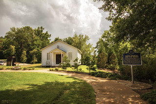 Elvis Presley's Childhood Church - Tupelo (Mississippi)