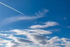 20180311_162920_0039 (Olivier_1954) Tags: vacances france balade wissant avion ciel nuage paysage séjour trace visite tardinghen hautsdefrance fr