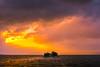 sunset 0450 (junjiaoyama) Tags: japan sunset sky light cloud weather landscape orange purple color lake island water nature winter storm