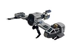 V-4X-D ski speeder