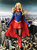 Trying out this new head sculpt on the Girl of Steel (alexmadalton) Tags: dc supergirl superman figure doll phicen tbleague 16 scale comics