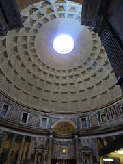 The Pantheon - 2nd trip (#3) (jimsawthat) Tags: ancient architecture architecturaldetails urban rome italy pantheon interior oculus