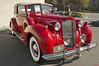 1938 Packard Twelve Convertible Victoria (Pat Durkin OC) Tags: 1938packard twelve convertible victoria red whitewalltires