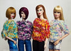 A-Z Challenge 2.0: F - Four of a Kind (BlackBastet) Tags: fashionroyalty fashion doll ve perrin forever agnesvonweiss ooak luchia fabulous fields kar stone makinganentrance