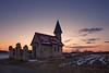 Eiskalter Winterabend (Jürgen Mayer) Tags: kapelle chapel church kirche landscape dämmerung dawn sonnenuntergang sunset pentaflife pentaxart sigma816 wideangle weitwinkel winter kalt kälte cold sky himmel pentax pentaxk5 landschaft