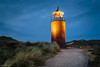 Quermarkenfeuer in den Dünen von Kampen (in explore) (He Ro. - Off for a while -) Tags: 2016 herbst sylt autumn quermarkenfeuer lighthouse dunes kampen bluehour blue grass landscape longexposure langzeitbelichtung norddeutschland northgermany deutschland germany island outdoor schleswigholstein de path inexplore