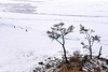 Cycling on Icy lake (MelindaChan ^..^) Tags: siberia russia 俄羅斯 西伯利亞 lake baikal 貝加爾湖 cycling bike chanmelmel mel melinda melindachan bycicle frozen icy snow cold winter