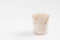 Toothpicks box on white background (wuestenigel) Tags: wood bunch personal crowd pick dentist accessory eat background toothpick clean small food pile health dental isolated tooth white view bamboo group wooden closeup party thin texture medical brown care hygiene equipment toothpicks object box many sharp stick kitchen