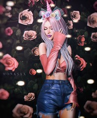 N° 772 (MonaSax95 | Queen oF Ink) Tags: new news newitem newitems items item product products sl secondlife avatar pixel shot pic photo blog blogger shop shopping fashion style moda cool glamour creative event events photographer photograpy beautiful beauty flowers roses rose