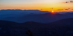 Betwixt and Between (Jeff Rowton) Tags: linvillegorge northcarolina tablerock mountain valley sunset contemplation nature wilderness betwixtandbetween hiking backpacking