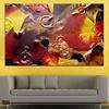 Картина пано за стена от 1 част с есенни листа и дъждовни капки - HD-759-1 (Smart Choice BG) Tags: декорациязастенаот1част картинапано панозастена паноот1част цветя