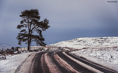 Snowy Hirwaun to Brecon pass (technodean2000) Tags: ©technodean2000 lr ps photoshop nik collection nikon technodean2000 flickr photographer d810 wwwflickrcomphotostechnodean2000 www500pxcomtechnodean2000 brecon snow road south wales uk welsh lightroom flick photo