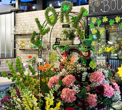 Florist-City Market (rhbonham) Tags: shamrocks bouquet stpatrick'sday florist citymarket baycity flowers