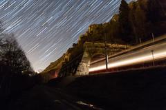 Galerie de l'Âne (Maxime Espinoza) Tags: circumpolaire train filé détoile étoile ecr euro cargo rail