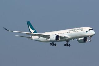 B-LRV Cathay Pacific A350-900 HKG