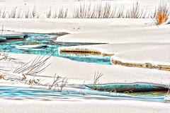 Spring Fantasy (emerge13) Tags: lépiphaniequébeccanada paroisselépiphanie countryside nature coursdeau snow water watercourse stream saariysqualitypictures