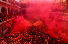 Red Blast (Avishek Das Photography) Tags: holi color red colorblast india festival avishekdasphotography avishekdasphoto